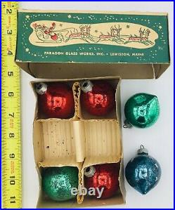 Vintage 140 Feather Tree Christmas Ornaments Boxes Tiny German Japan USA