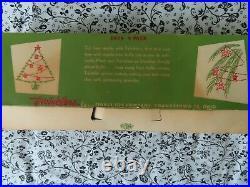 Vintage 1950s Christmas tree Twinklers stars spinner ornaments