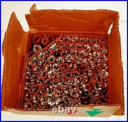 Vintage 1960s Christmas Tree Stainless Aluminum Original Box Evergleam MCM NOS