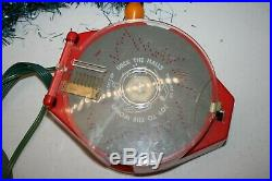 Vintage 1963 Rare Christmas Tree Musical 8 Bell Lights Delta Electric MCM A726