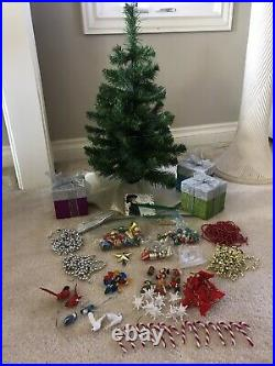 Vintage 2001 Pleasant Company American Girl CHRISTMAS TREE & TRIMMINGS