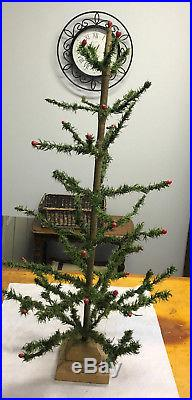Vintage 3 Foot Feather Christmas Tree