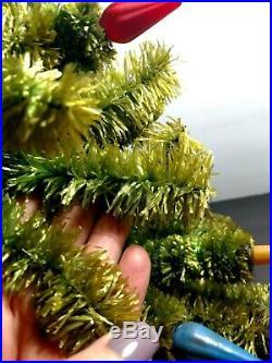 Vintage 32 Light C6 Christmas Tree w Horizontal Sockets for Matchless Stars Noma