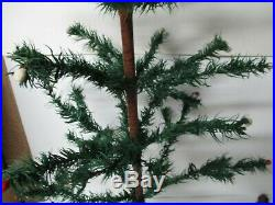 Vintage 34Tall Germany Christmas Feather Tree