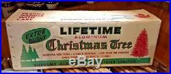 Vintage 6 1/2, Aluminium Christmas Tree