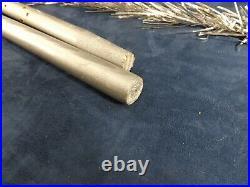 Vintage 6 Foot 58 Branch 1950's Aluminum Glitter Christmas Tree Metal Tree Corp