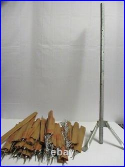 Vintage Aluminum 3-3 1/2 Foot Feet Christmas Tree 37 Branches