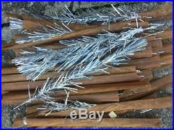 Vintage Aluminum 30 Branch 4 Foot Tinsel Christmas Tree Branches Only