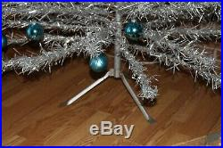 Vintage Aluminum 7ft Christmas Tree The Sparkler withBox & Color Wheel! Cool