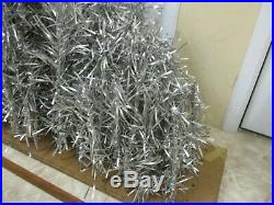 Vintage Aluminum Christmas SILVER Tree Branches HUGE Lot of 118 pieces