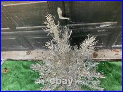 Vintage Aluminum Christmas Tree 4' (48) 40 Branches