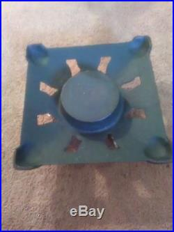 Vintage Antique 1940's Cast Iron Christmas Tree Stand in excellent condition