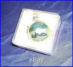 Vintage Arctic Cat Christmas Tree Ornament Rare