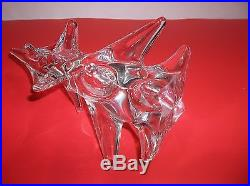 Vintage Art Glass CHRISTMAS TREE CLEAR 8