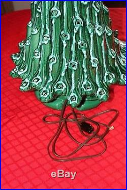 Vintage Atlantic ceramic christmas tree