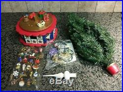 Vintage Avon Christmas Is Coming Advent Revolving Musical Christmas Tree