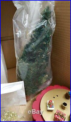 Vintage Avon Musical Advent Rotating Christmas Tree Super Hard To Find