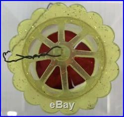 Vintage Birdcage Twirler Spinner Motion Christmas Tree Ornaments Set of 9