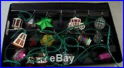 Vintage Boxed Set Of 20 Pifco Tutti Frutti Christmas Tree Lights
