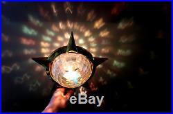 Vintage Bradford Celestial Christmas Star Tree Topper Nativity Scene, Works