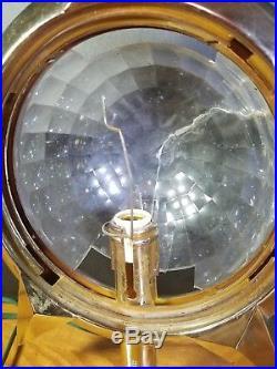 Vintage Bradford Celestial Light Spinning Star Christmas Tree Topper