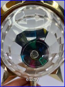 Vintage Bradford Celestial Star Plastic Christmas Tree Topper Color Motion Light