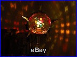 Vintage Bradford Christmas Tree Top Celestial Star Spinner