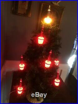 Vintage Bubble Light Christmas Tree