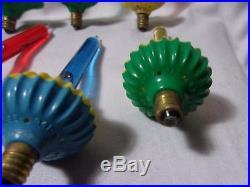 Vintage Bubble Light Lot of 11 Smaller Size Bulbs Christmas Tree Lights T