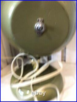 Vintage Bullet Shaped Color Wheel Glass Lens Aluminum Christmas Tree Technamatic