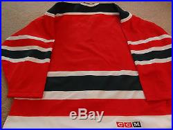 Vintage CCM New Jersey Devils Authentic 52 Jersey NHL Christmas Tree