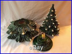Vintage Ceramic Christmas Tree 22 Tall Beautiful Tree