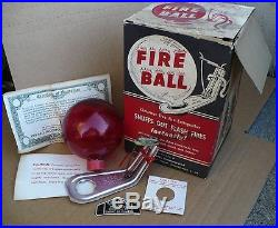 Vintage Christmas Tree Fire Extinguisher UNUSED IN BOX