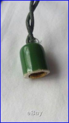 Vintage Christmas Tree Light cord (ceramic sockets) VERY RARE