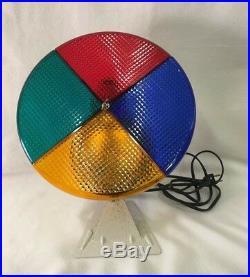 Vintage Evergleam 4377 Motorized Color Wheel Christmas Tree Light Lights