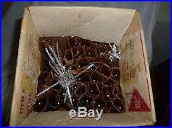 Vintage Evergleam Stainless Aluminum Christmas 4 ft Tree 43 Branches & Box