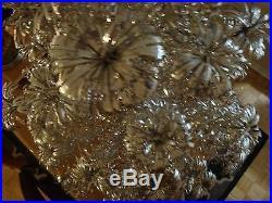 Vintage Glass Christmas 1960s Trumpet Tree