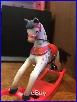Vintage Hallmark Christmas Tree Ornament Rocking Horse 1981 First Ed No Box