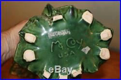 Vintage Mccoy Pottery Christmas Tree Cookie Jar All Original