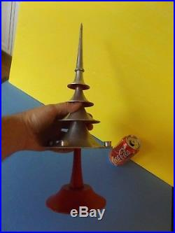 Vintage Mid-Century Modern Machine age Aluminum Christmas Tree Philadelphia Hist