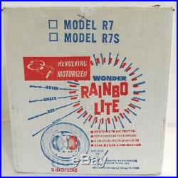 Vintage Midcentury Eames Era Rainbo Lite Color Wheel For Aluminum Christmas Tree