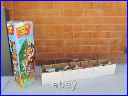 Vintage Mr Christmas Disney Mickeys Tree Trimmers Animated Ladder 1994 READ