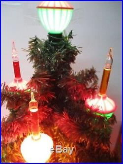 Vintage NOMA 21 Light C-7 Christmas Bubble Light Tree