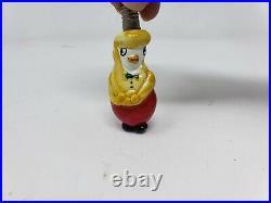 Vintage NOS Milk Glass Figural Christmas Tree Light Bulbs Original Box Albany OR