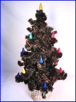 Vintage Noma 18 Bubble Light Christmas Tree