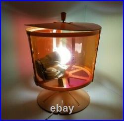 Vintage Noma Revolving Color Wheel Christmas Tree Rotating Light Movie Prop