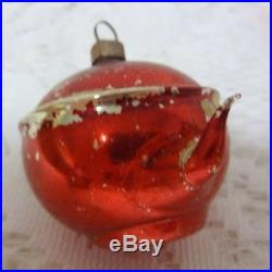 Vintage Old Germany Glass Christmas Tree Ornament Teapot Rare