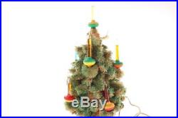 Vintage Paramount Bubble Lite 9 Light Christmas Tree 16