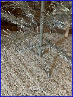 Vintage Peco Aluminum Christmas Tree 4 ft with Box Complete