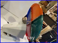 Vintage Penetray Motorized Color Wheel Aluminum Christmas Tree Light Works